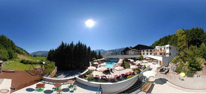 Das Babyhotel amiamo in Zell am See in Österreich