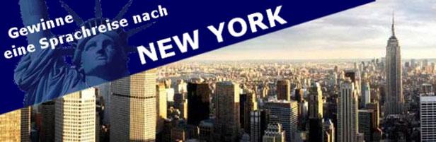 Gewinnspiel um Sprachreisen nach New York von Kaplan