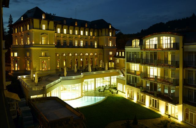 Das Falkensteiner Hotel Grand Spa Marienbad ist ein Kurhotel