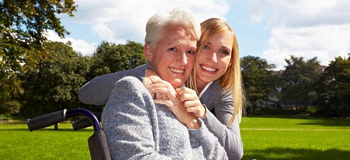 Für Pflegende ist es wichtig auch auf die eigene Erholung zu achten