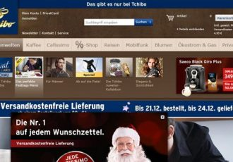 Der Onlineshop Tchibo.de ist bei Frauen sehr beliebt