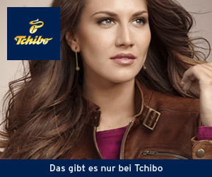 Banner des Onlineshop Tchibo.de