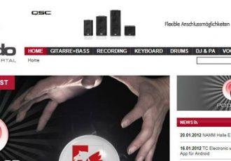 Informationen über das Musikerportal bonedo.de