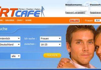 Die Webseite flirtcafe.de ist eine Plattform zum Flirten und Chatten für Frauen und Männer