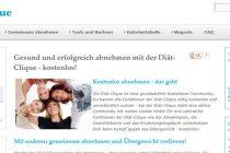 Die Webseite Diät-Clique.de gibt kostenlose Tipps zum Abnehmen