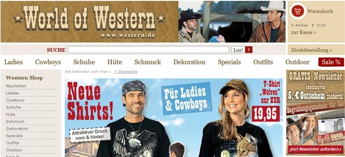 Tipps wo man Westernkleidung gut online kaufen kann