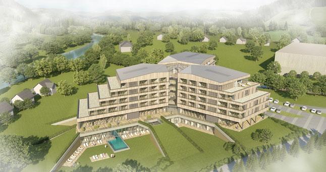Das neue Falkensteiner Hotel nahe der Planai in Schladming