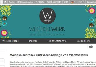 Das Designer Label Wechselwerk bietet Wechselschmuck aus Deutschland