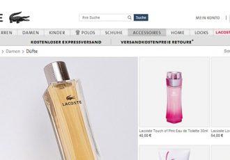 Amy Adams wirbt für Lacoste Parfums