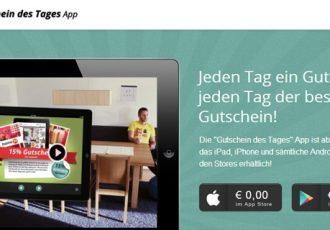 Die Gutschein des Tages App