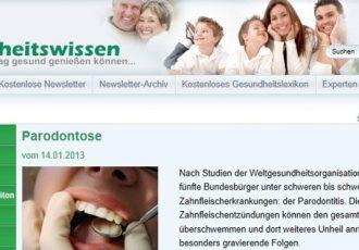 Online Gesundheitsportal
