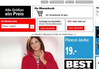 Mode Online Shop Sieh an!