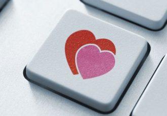 Flirten im Web