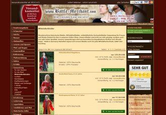 Mittelalterkleider von Battle-Merchant