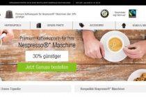 Gourmesso, der Onlineshop für Kaffeekapseln