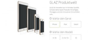 iPhone 6s Displayschutz